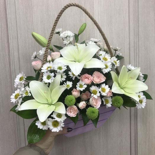Белый цвет: букеты цветов на заказ Flowwow