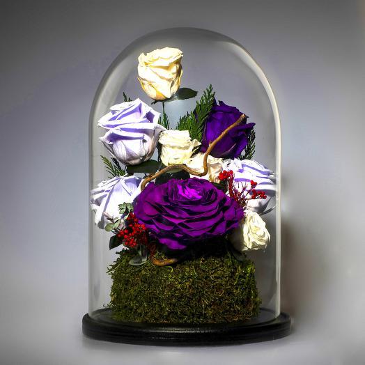 """Композиция """"Сиреневые туманы"""": букеты цветов на заказ Flowwow"""