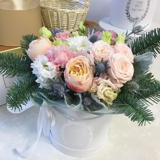 Зимний микс: букеты цветов на заказ Flowwow