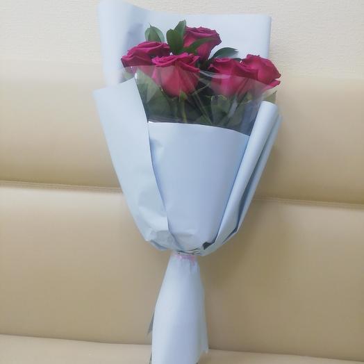 Малиновый звон: букеты цветов на заказ Flowwow