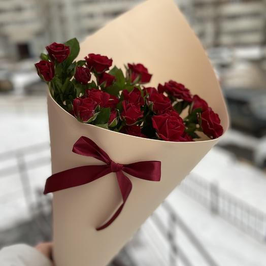 Красные розы 🌹: букеты цветов на заказ Flowwow