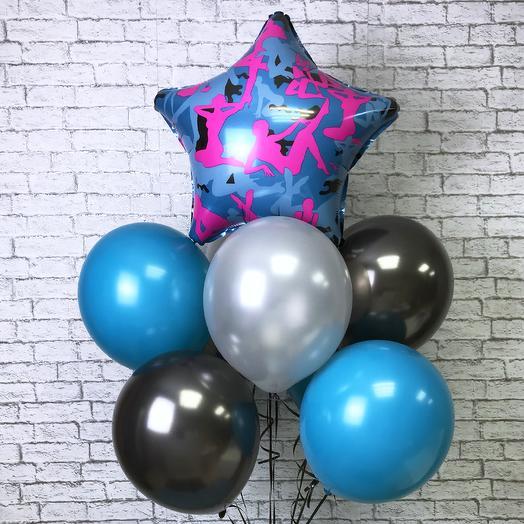 Игривый сет из воздушных шаров: букеты цветов на заказ Flowwow