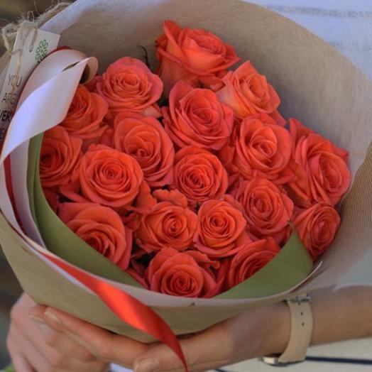 Роза Вау 19 шт