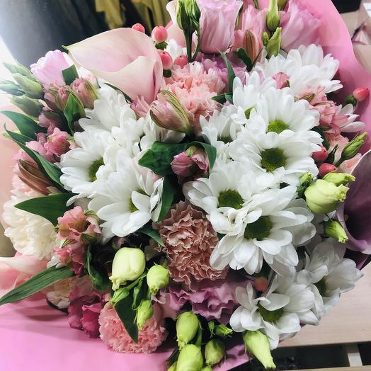 Сборный букет: букеты цветов на заказ Flowwow