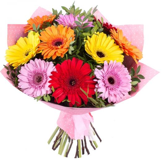 Букет герберы: букеты цветов на заказ Flowwow