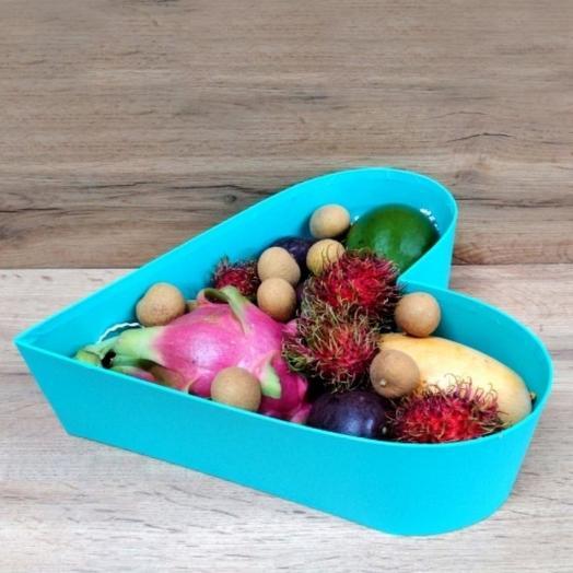 Ассорти Бирюзовое Сердце (1.5 кг): букеты цветов на заказ Flowwow