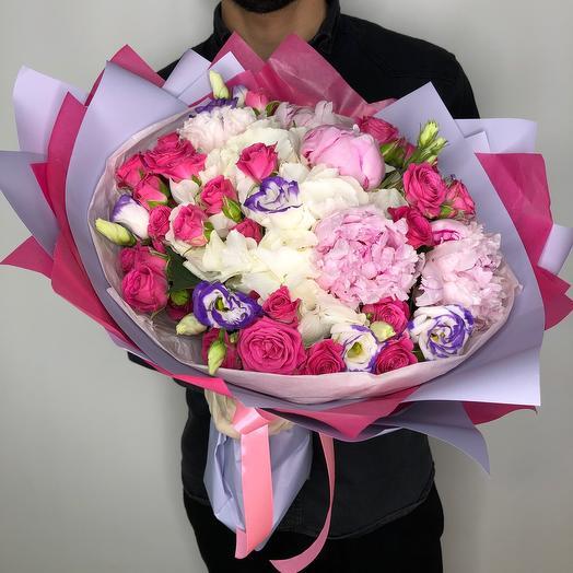 «В малине»: букеты цветов на заказ Flowwow
