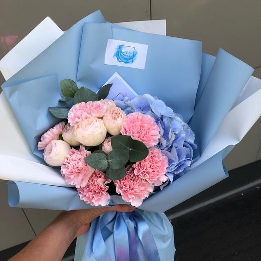 💙нежность: букеты цветов на заказ Flowwow