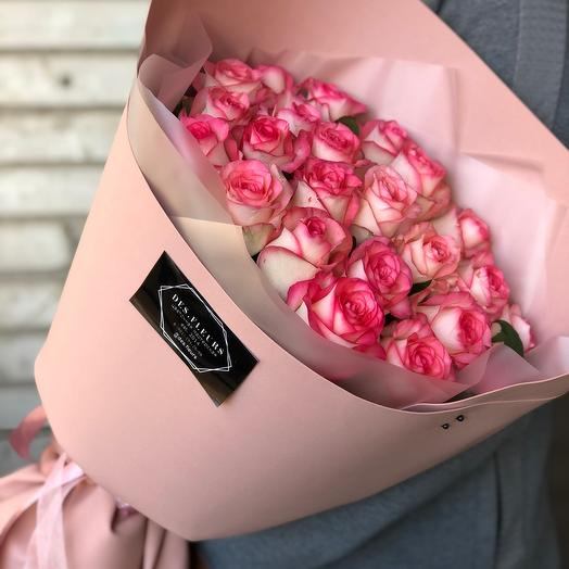 "Bouquet of roses ""With best wishes «"