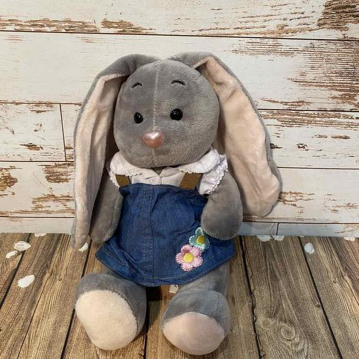 Bunny in jeans