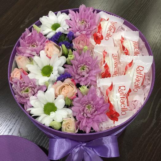 Цветы в коробке 007778