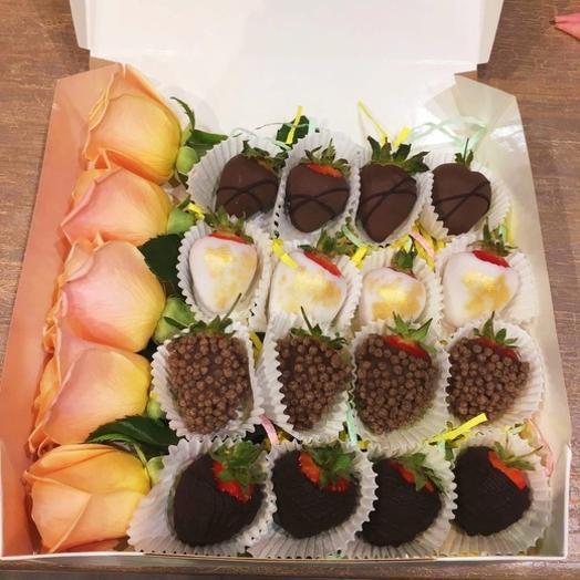 """Strawberry box """"Delight"""""""