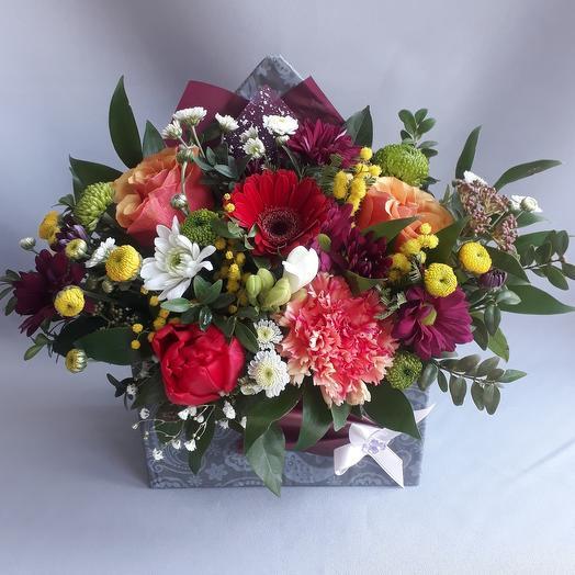 Цветы в конверте 81