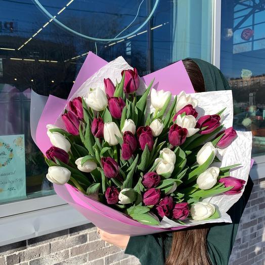 Шикарные тюльпаны