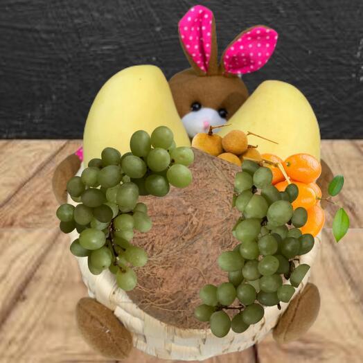 Подарочный набор ЭКО из фруктов