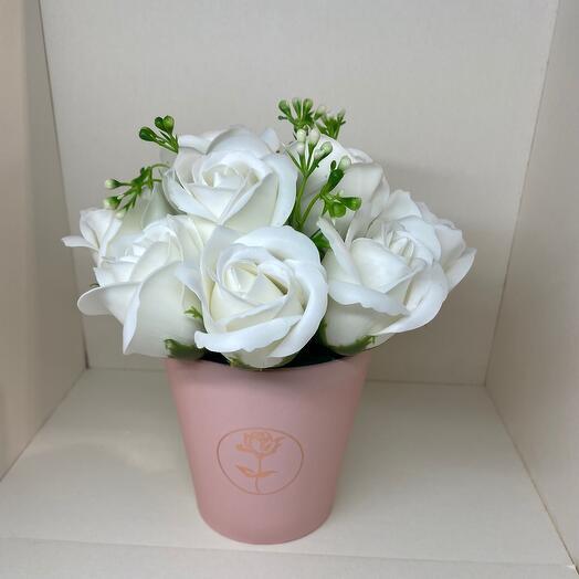 Мыльные розы 11 шт