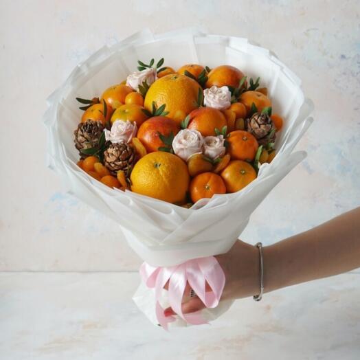 Букет из фруктов размер S
