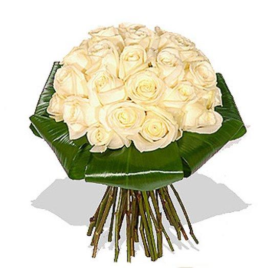 Букет из роз Ослепительный блеск: букеты цветов на заказ Flowwow