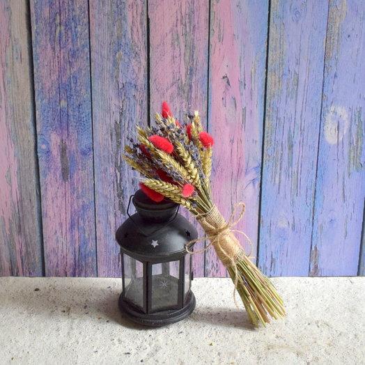 Букет из сухоцветов (размер S): букеты цветов на заказ Flowwow
