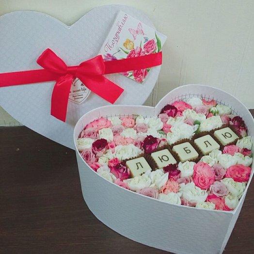 Святой Валентин: букеты цветов на заказ Flowwow
