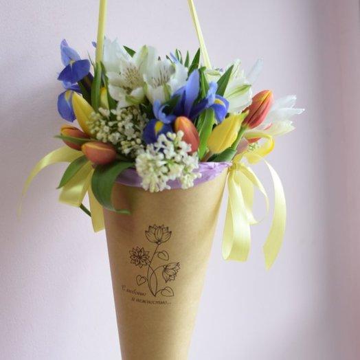 Весенняя свежесть: букеты цветов на заказ Flowwow