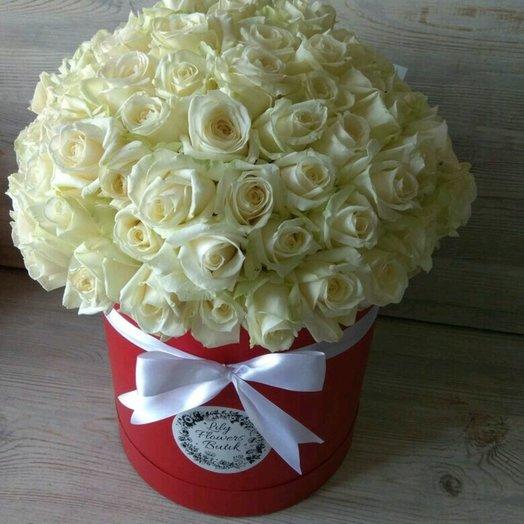 Белое восхищение: букеты цветов на заказ Flowwow