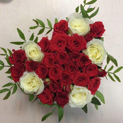 Fire Heart: букеты цветов на заказ Flowwow