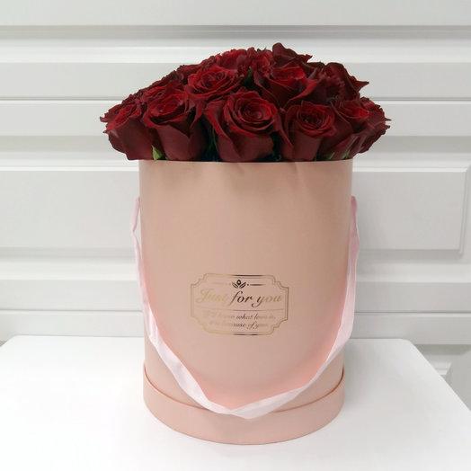 Шляпная коробка 16: букеты цветов на заказ Flowwow