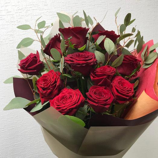 Ред 11: букеты цветов на заказ Flowwow