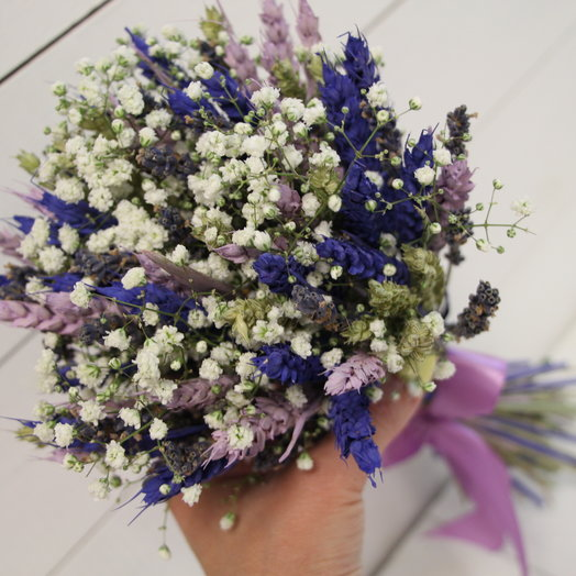 """Букет из колосьев """"Нежность"""": букеты цветов на заказ Flowwow"""