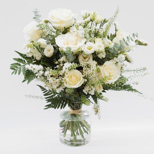 Белая Королева: букеты цветов на заказ Flowwow