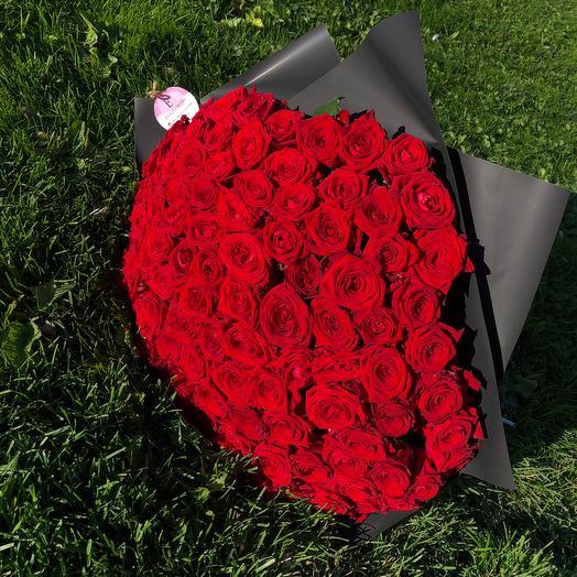 101 стильная роза: букеты цветов на заказ Flowwow