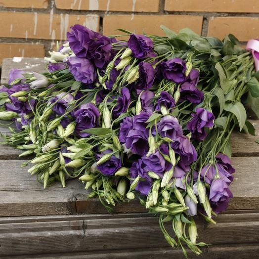 Эустома 19 шт: букеты цветов на заказ Flowwow
