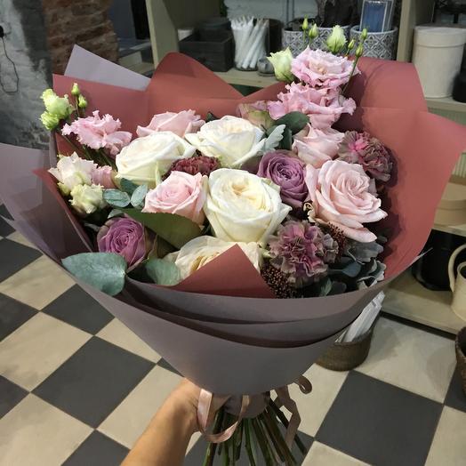 Букет Мэри: букеты цветов на заказ Flowwow