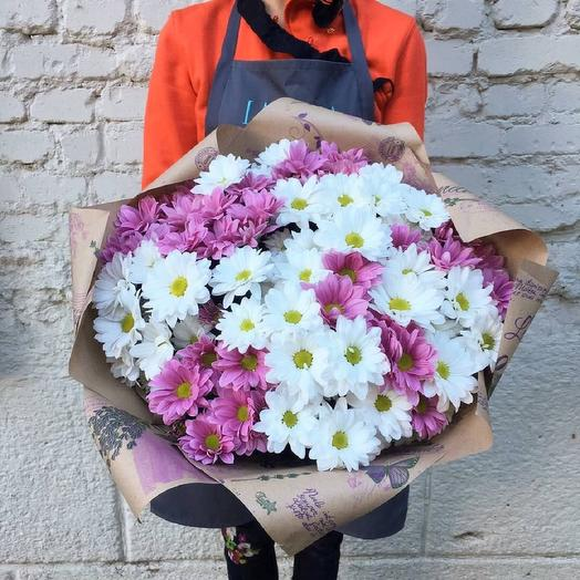 "Букет ""Розовое Счастье"": букеты цветов на заказ Flowwow"
