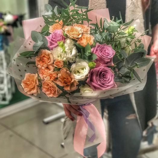 Букет «дыхание»: букеты цветов на заказ Flowwow