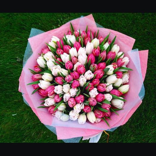 «Моя нежность»: букеты цветов на заказ Flowwow