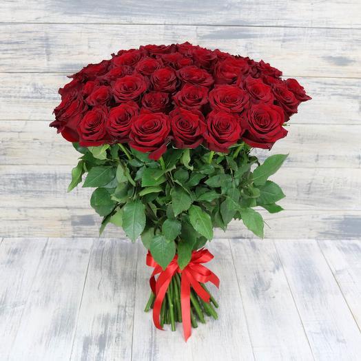 Розы красные ЭКСПЛОРЕР: букеты цветов на заказ Flowwow