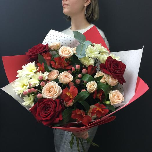 От всего сердца: букеты цветов на заказ Flowwow