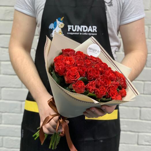 Букет из 25 роз Эль торо: букеты цветов на заказ Flowwow