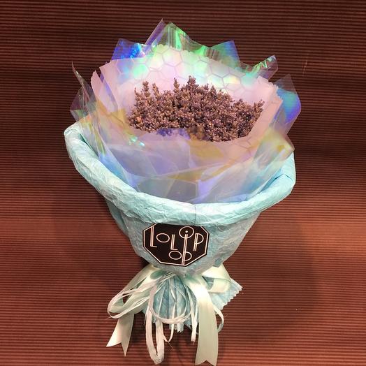 Радужная лаванда: букеты цветов на заказ Flowwow