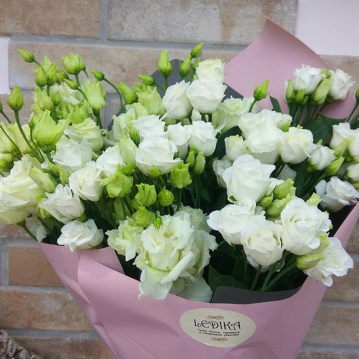 Лизиантус classic: букеты цветов на заказ Flowwow