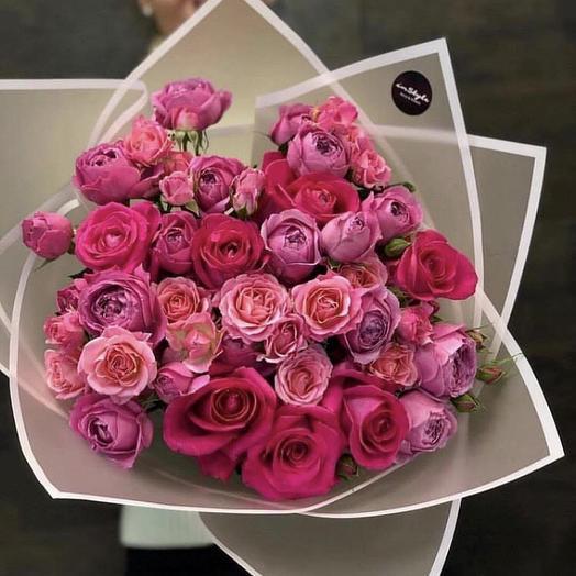 Букет «Милена»: букеты цветов на заказ Flowwow