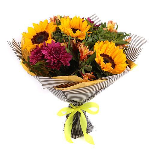 Жаркий поцелуй: букеты цветов на заказ Flowwow