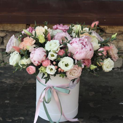 Пионовый Шюрле: букеты цветов на заказ Flowwow