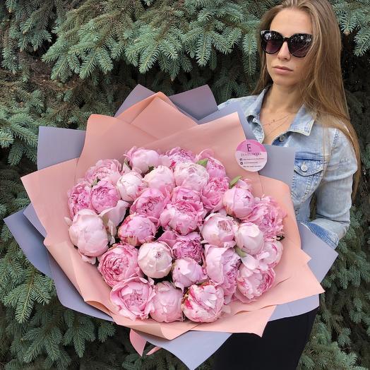 31 ароматный пион: букеты цветов на заказ Flowwow