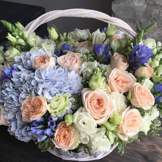 Корзина «Стефани»: букеты цветов на заказ Flowwow