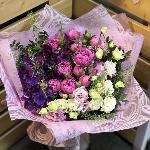 Букет Радужное настроение: букеты цветов на заказ Flowwow