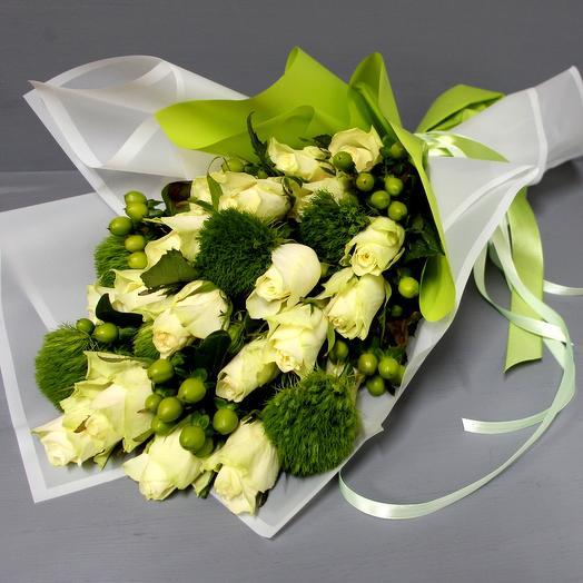 """""""Изумрудный"""": букеты цветов на заказ Flowwow"""