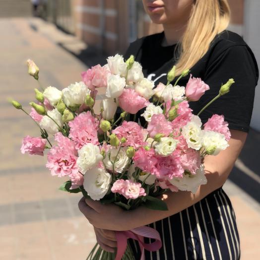 Букет из 11 эустом: букеты цветов на заказ Flowwow